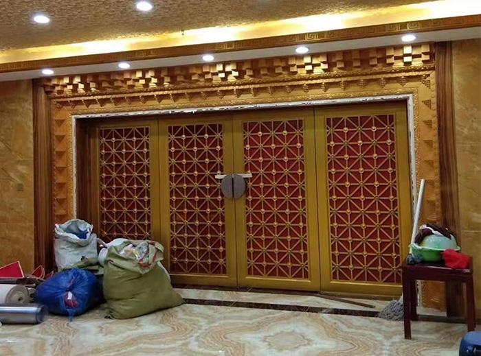 卓尼大酒店安装完工